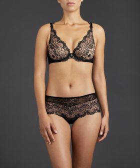 Soutien-gorge triangle plunge Aubade Art Of Ink TD12 Icone