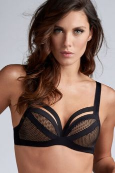 Soutien-gorge Push up Wing Power de Marlies Dekkers Noir