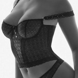 FEMME AUBADE Noir Bustier