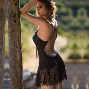 Sexy Nuisette Noir 6SEX0201