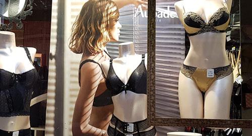 Boutique lingerie femme